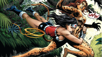 God Of War Wonder Woman VS The Cheetah (New 52)