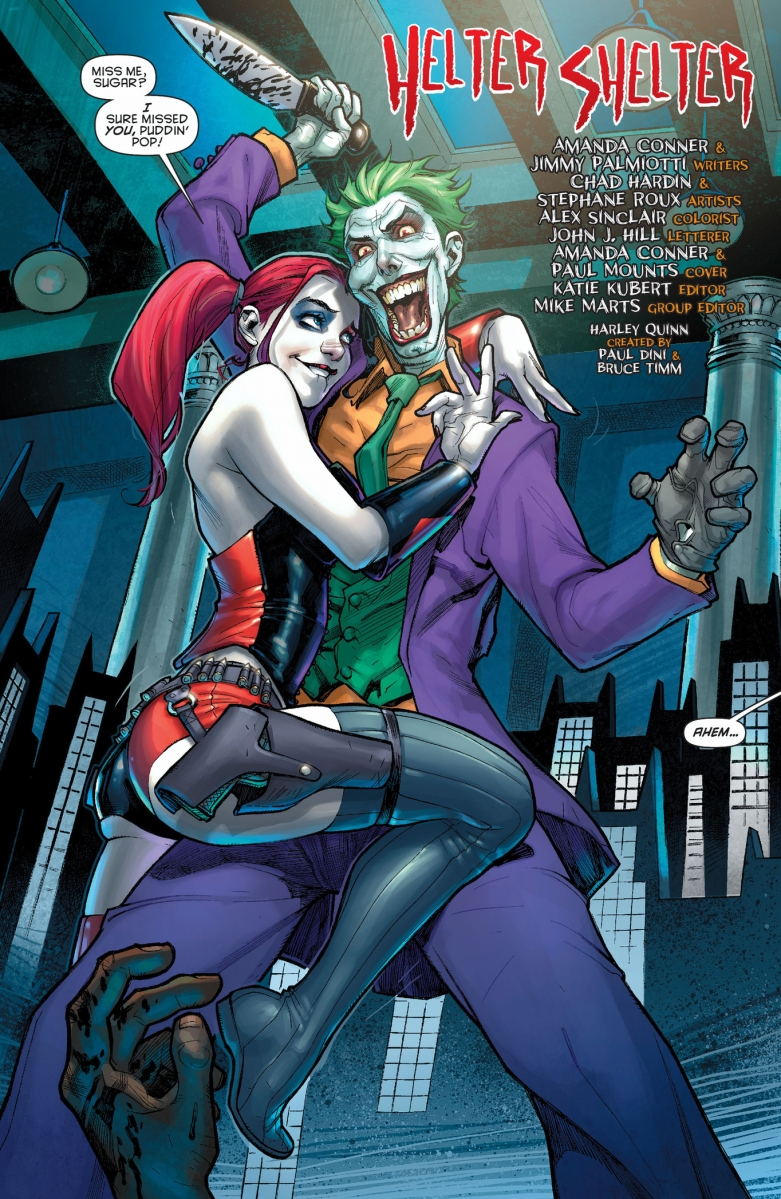 Shazam New 52 Harley Quinn And The J...