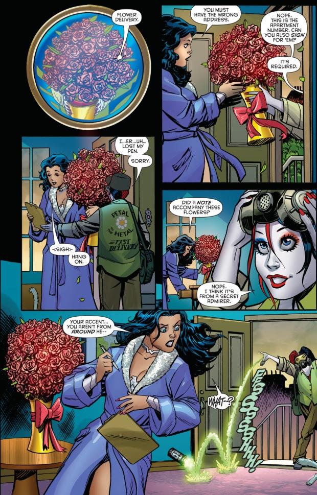 Harley Quinn Wears Wonder Womans Costume  Comicnewbies-3558