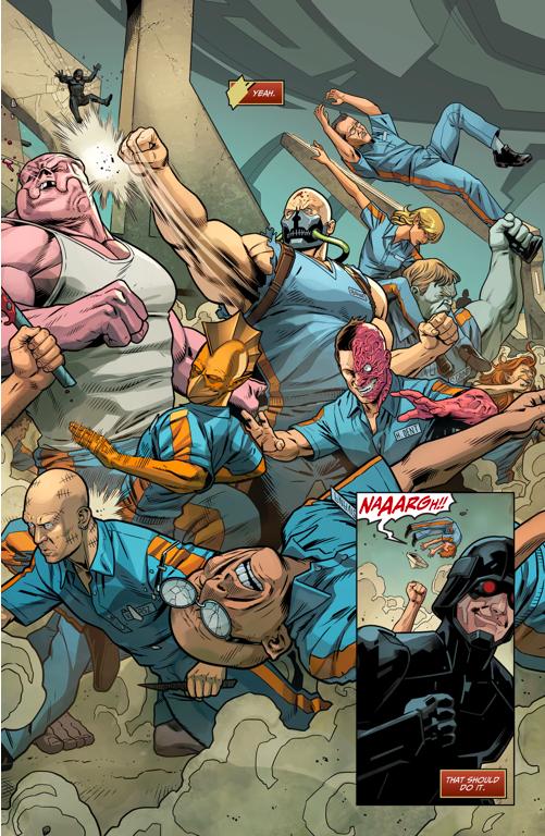Kilowog Picks A Fight With Bane