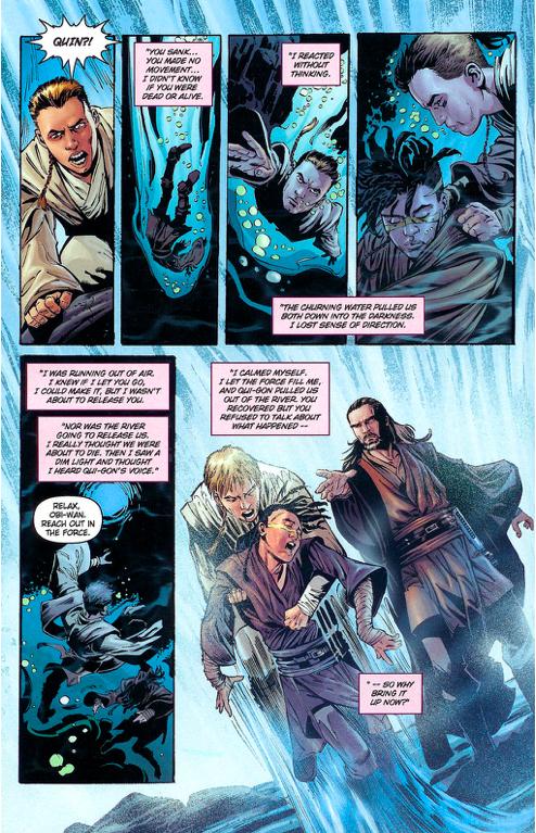 Obi Wan Kenobi And Quinlan Vos as Padawans