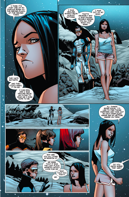 Original 5 Cyclops Meets X-23