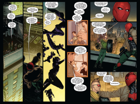 red hood trains the i am robin group