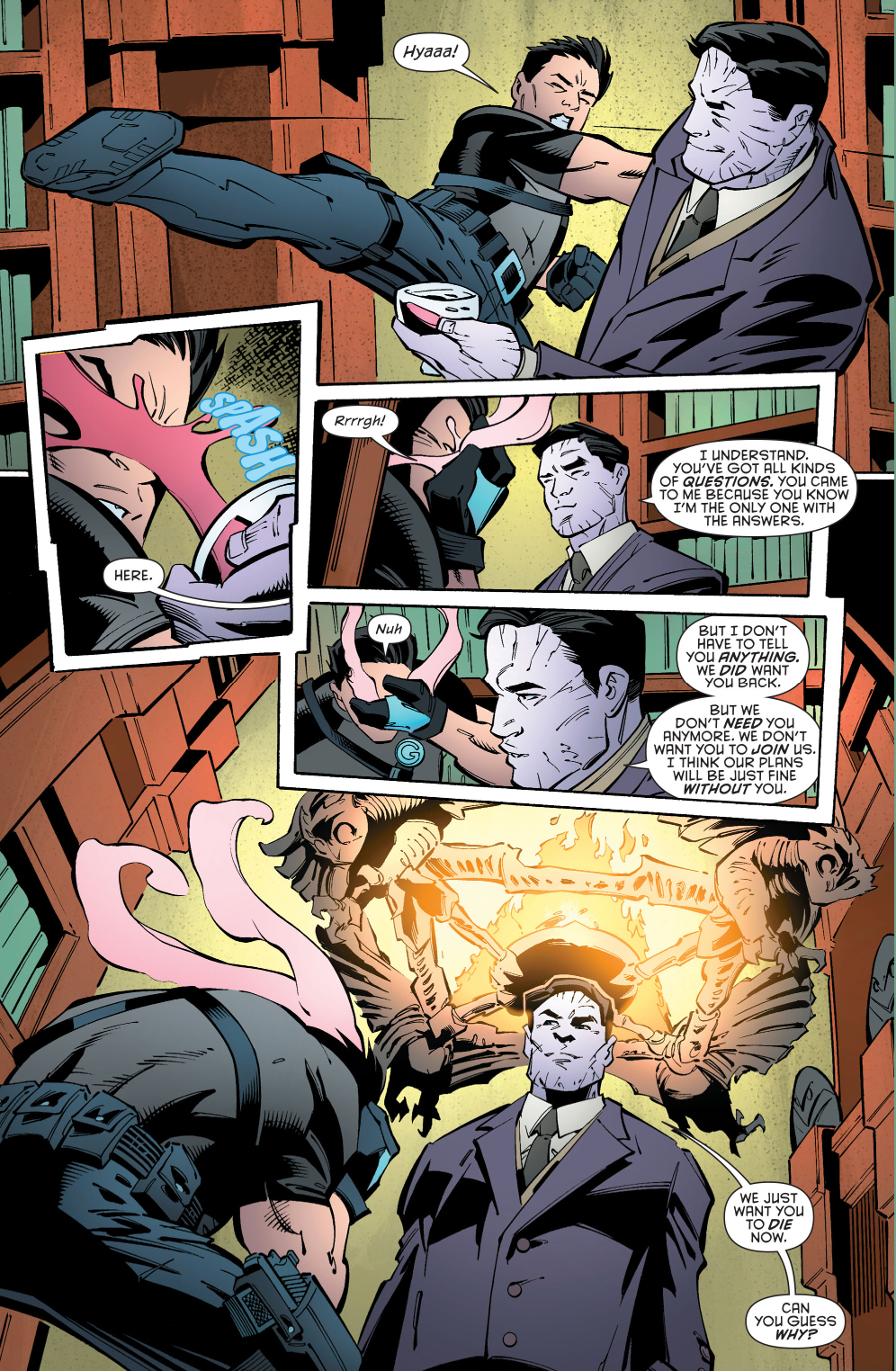 Robin Joins The Court Of Owls Comicnewbies