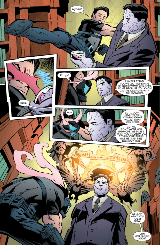 robin joins the court of owls