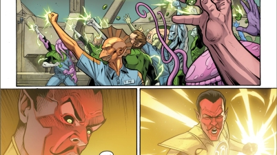 sinestro kills kilowog (injustice gods among us)