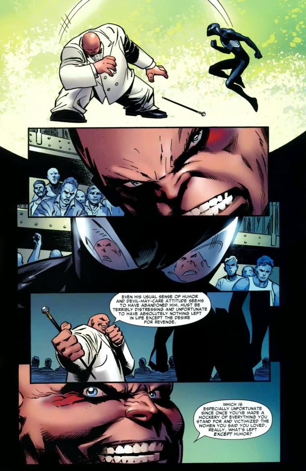 spider-man vs the kingpin (back in black)