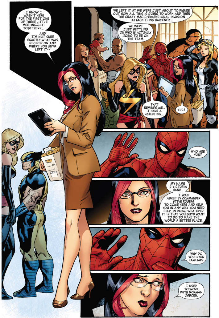 Spider-Man's Problem With Victoria Hand | Comicnewbies