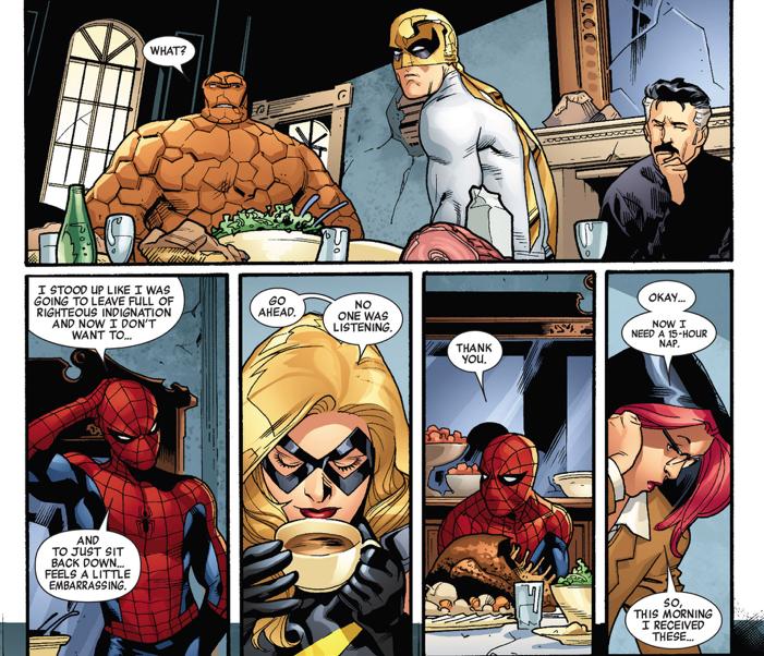 Spider-man's problem with victoria hand