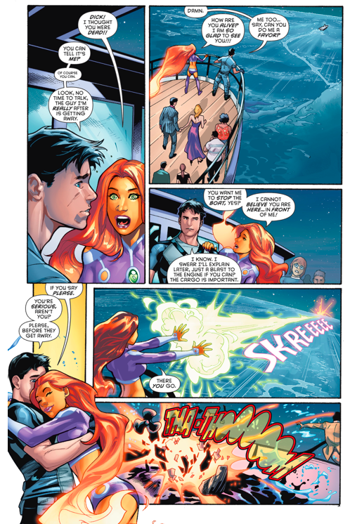 robin and starfire dating fanfiction Who knew that starfire had a sister  fanfiction teen titans starfire sister funny more  she was dating robin and she told me that she loves robin, but has .