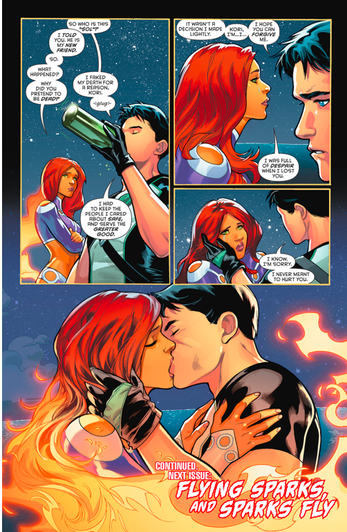 Dc comics robin and starfire sex
