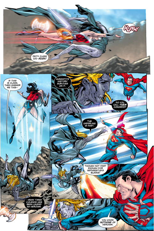 Superman And Wonder Woman VS Dichara | Comicnewbies