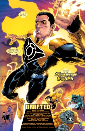 superman joins the sinestro corps
