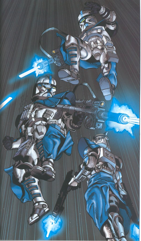 the arc troopers are unleashed