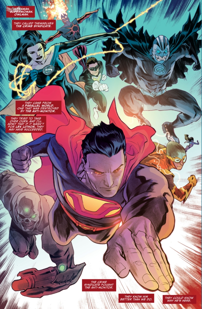 the crime syndicate (justice league 46)