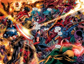 the new avengers vs the hood's army