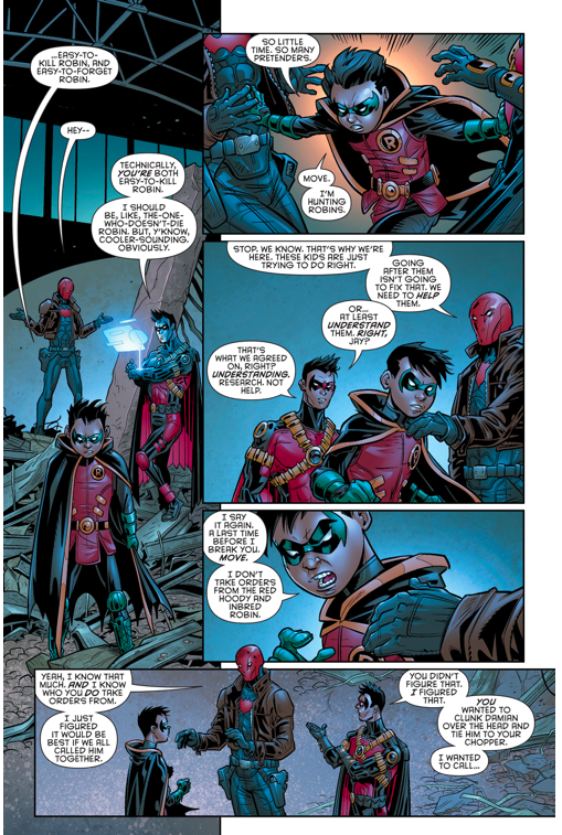 The One Person Damian Wayne Listens To  Comicnewbies-7999