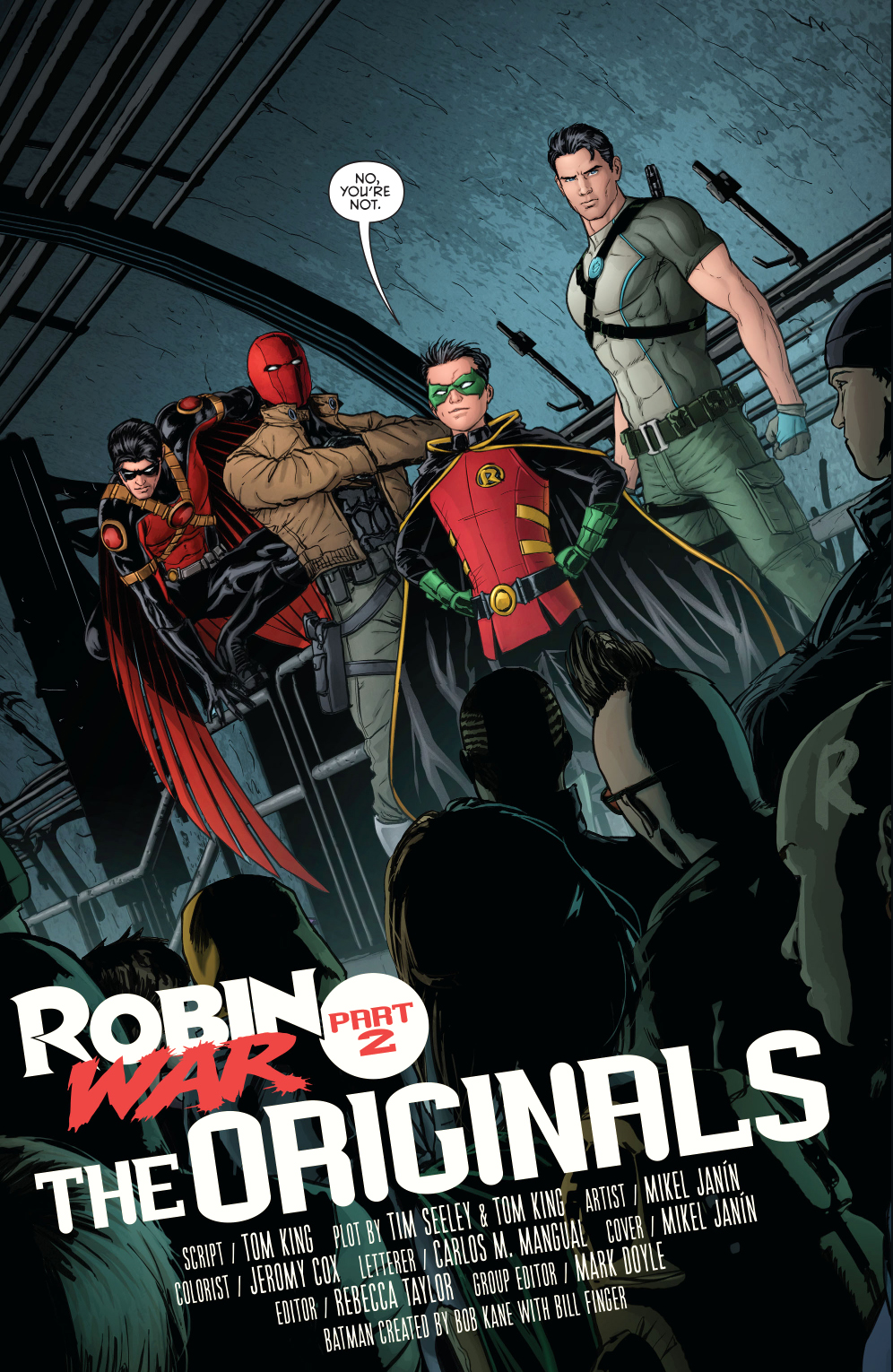 Dick Grayson Agrees To Train The We Are Robin Group