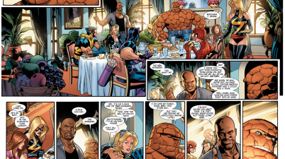 The Thing Joined The New Avengers