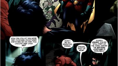 why dick grayson didn't choose tim drake as robin