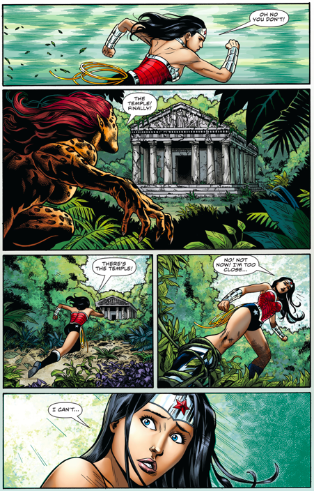 Wonder Woman Learns A Rule About Being A God