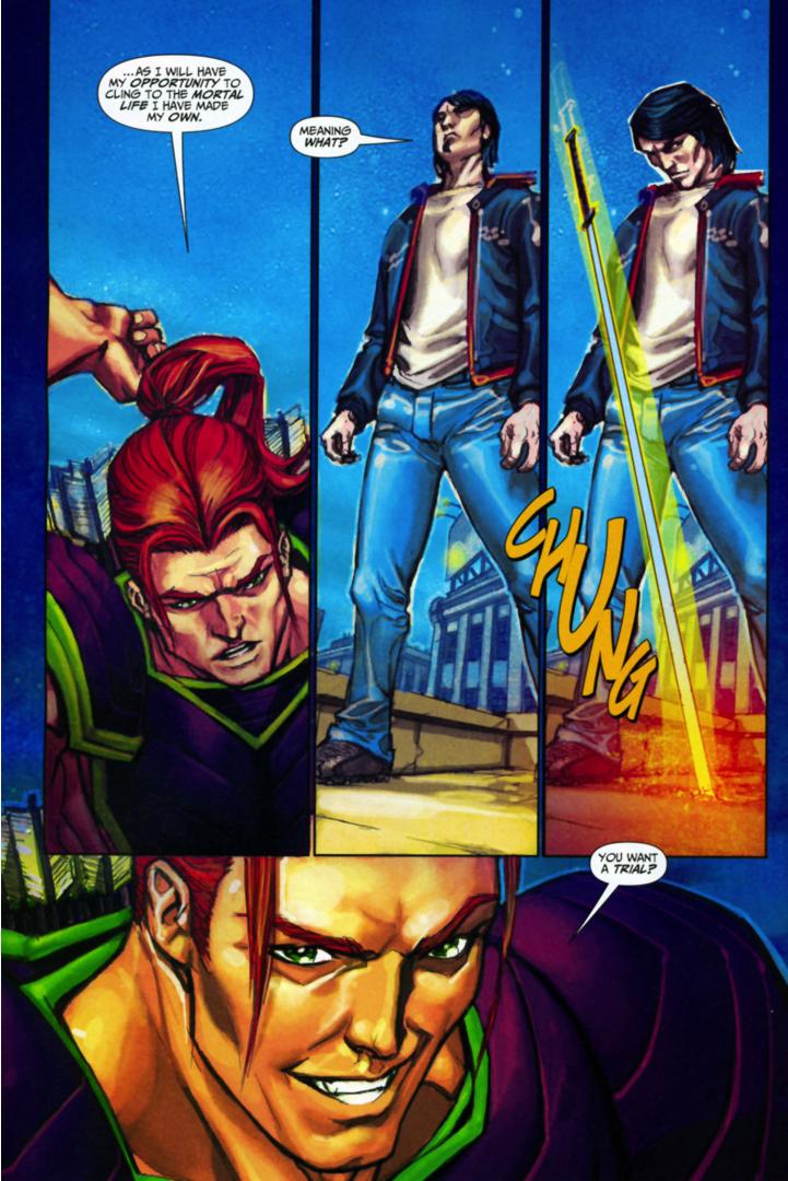 Freddy Freeman's Trial With Apollo (Trials Of Shazam) | Comicnewbies