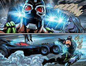batman's special move against bane