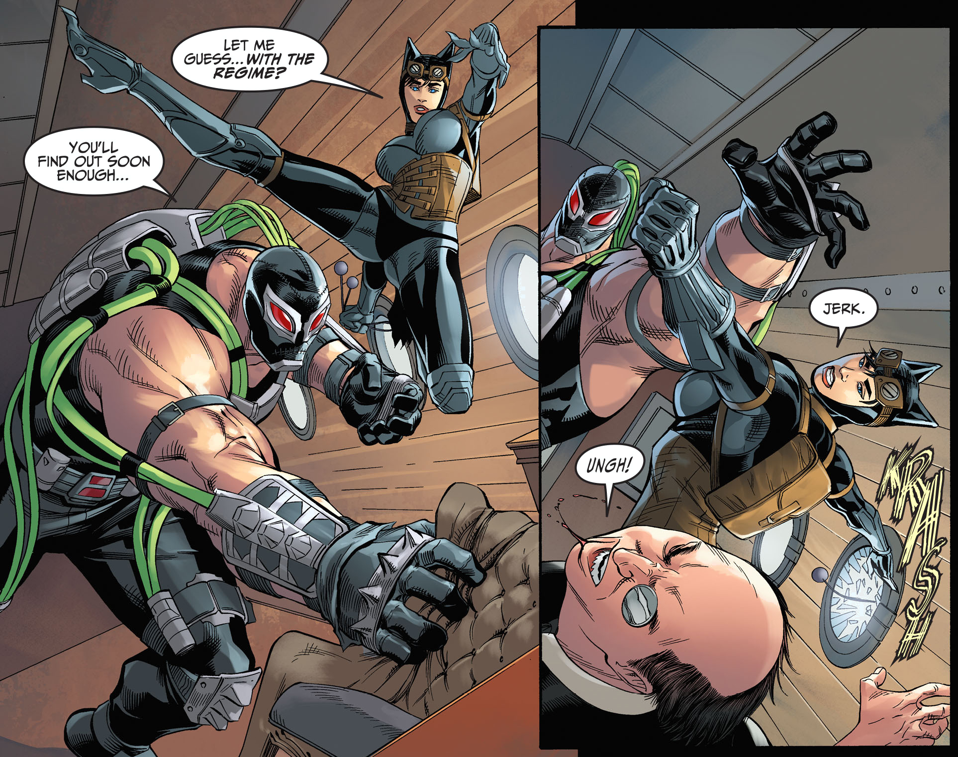 bane and catwoman relationship with god