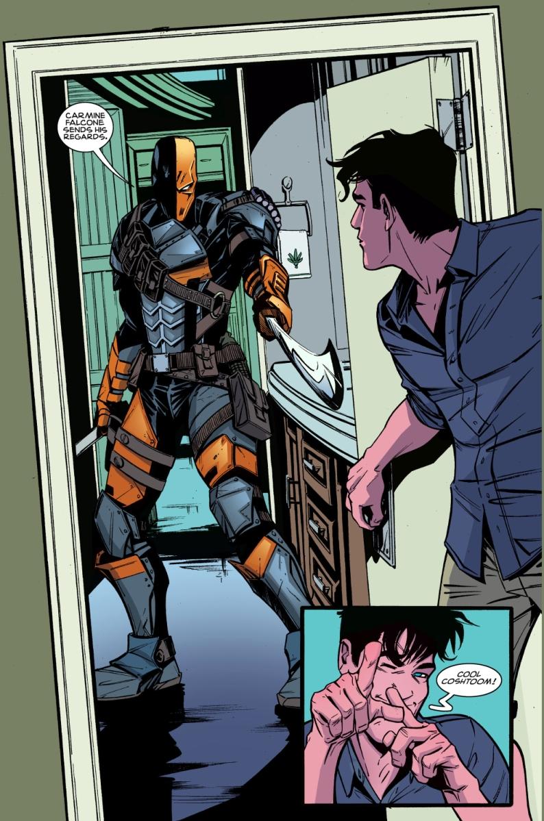 Clark Kent VS Deathstroke (Superman – American Alien ...  Deathstroke Vs Green Lantern