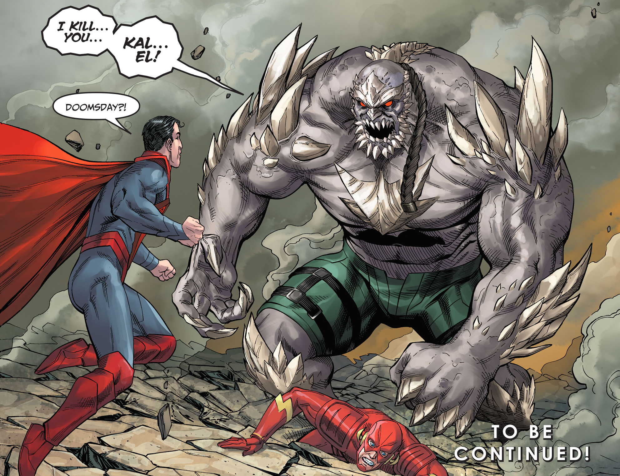 doomsday lands on earth comicnewbies