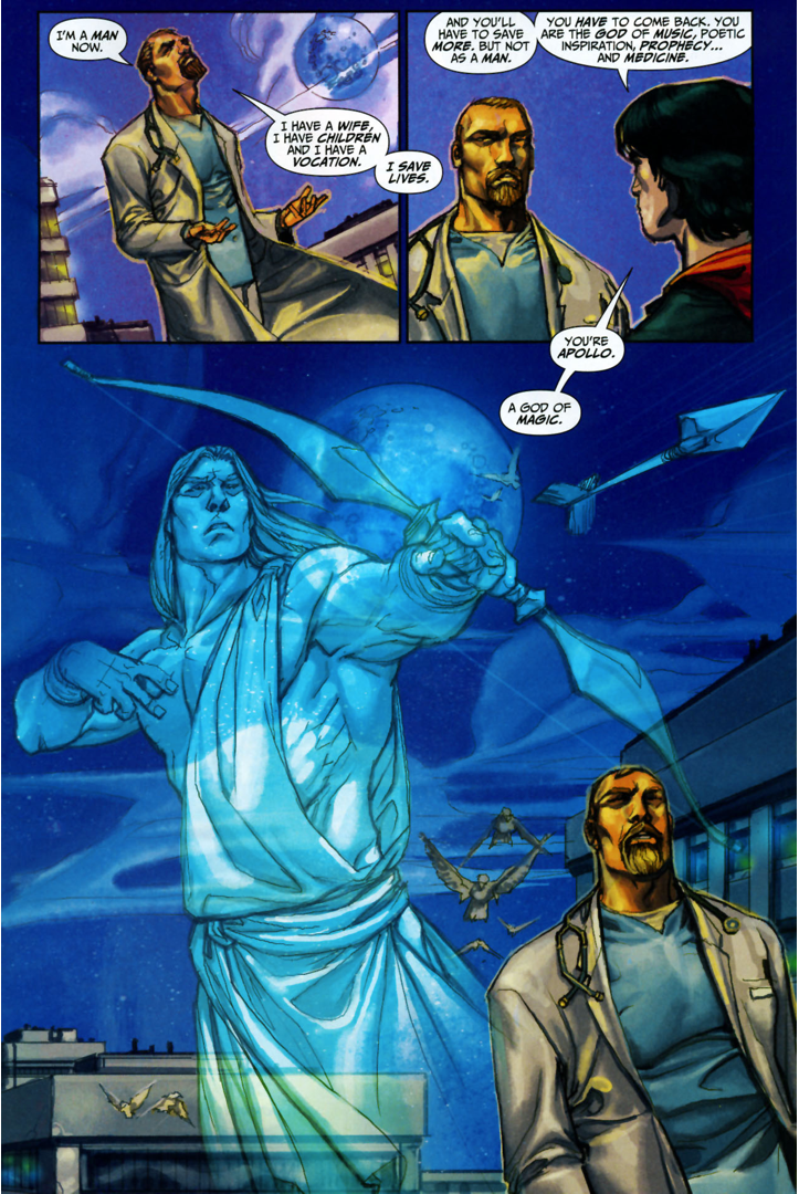 Freddy Freeman Meets Apollo (Trials Of Shazam) | Comicnewbies