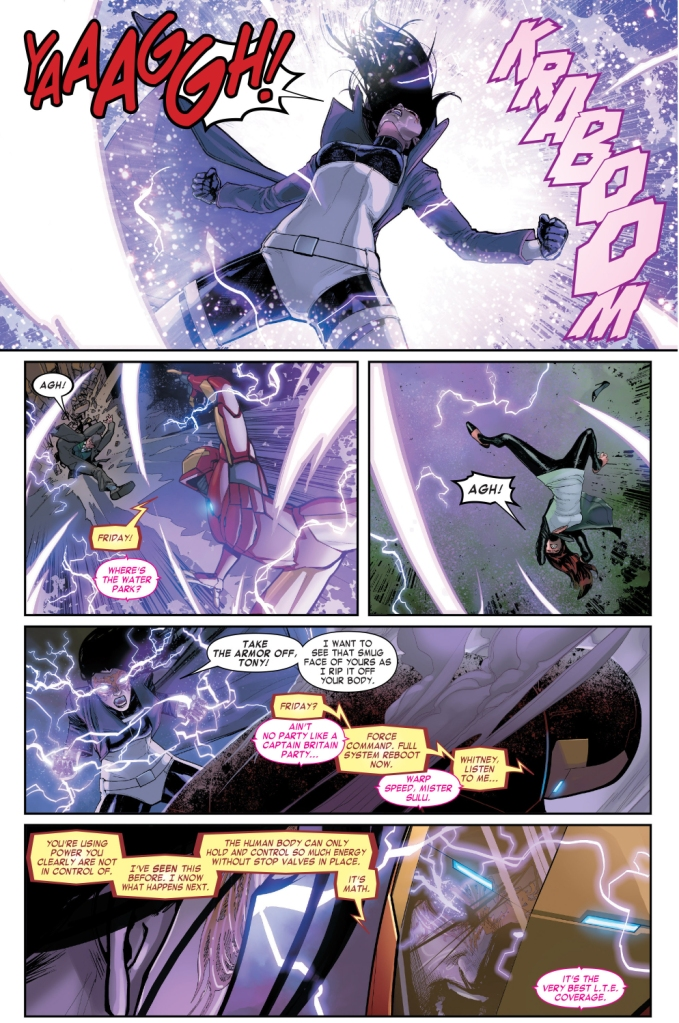 iron man and doctor doom vs madame masque
