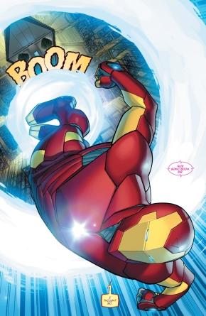 iron man's sonic boom
