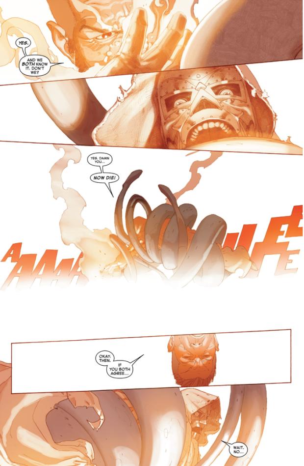 mister fantastic vs doctor doom (secret wars)