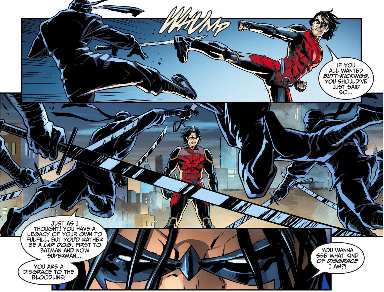 Nightwing (Damian Wayne) VS League Of Shadows Ninjas ...