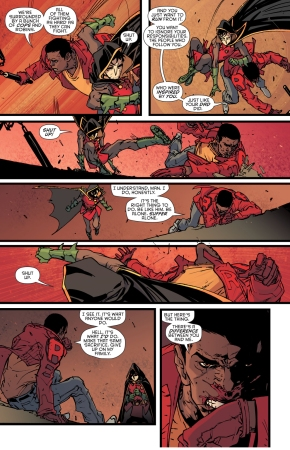 robin (damian wayne) vs duke thomas (robin war)