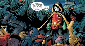 robin vs red hood, red robin and we are robin (robin war)