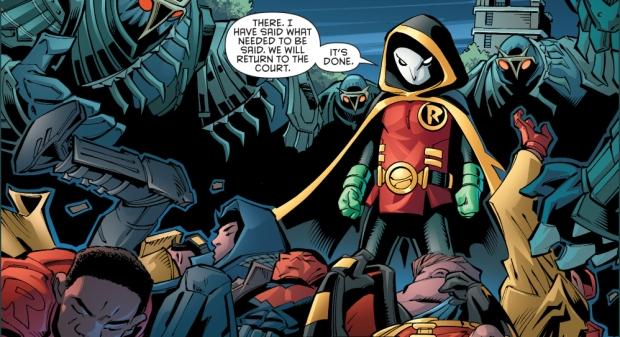 robin vs red hood, red robin and we are robin (robin war)