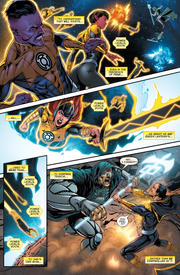 saint walker powers the sinestro corps