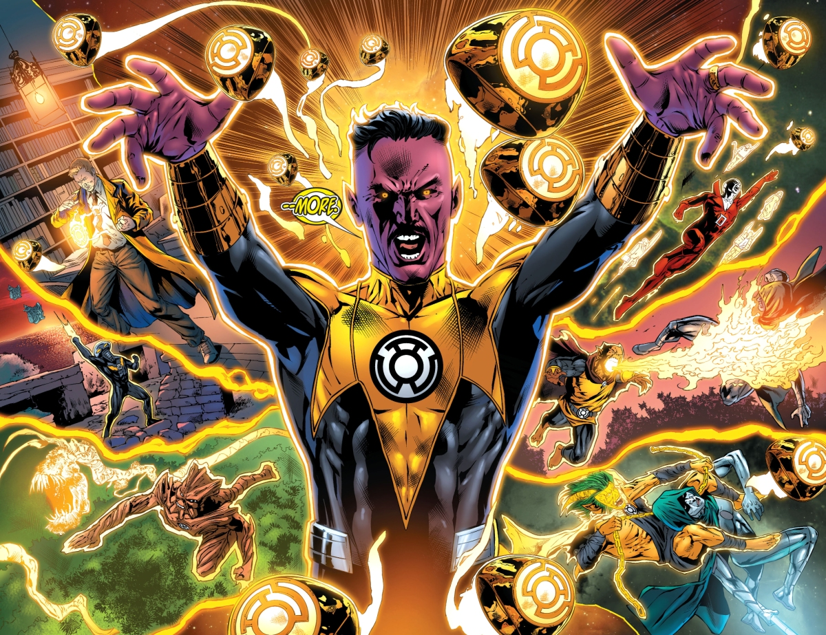 Sinestro s mass recruitment for the corps