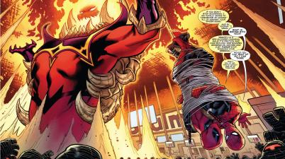 spider-man turns deadpool on