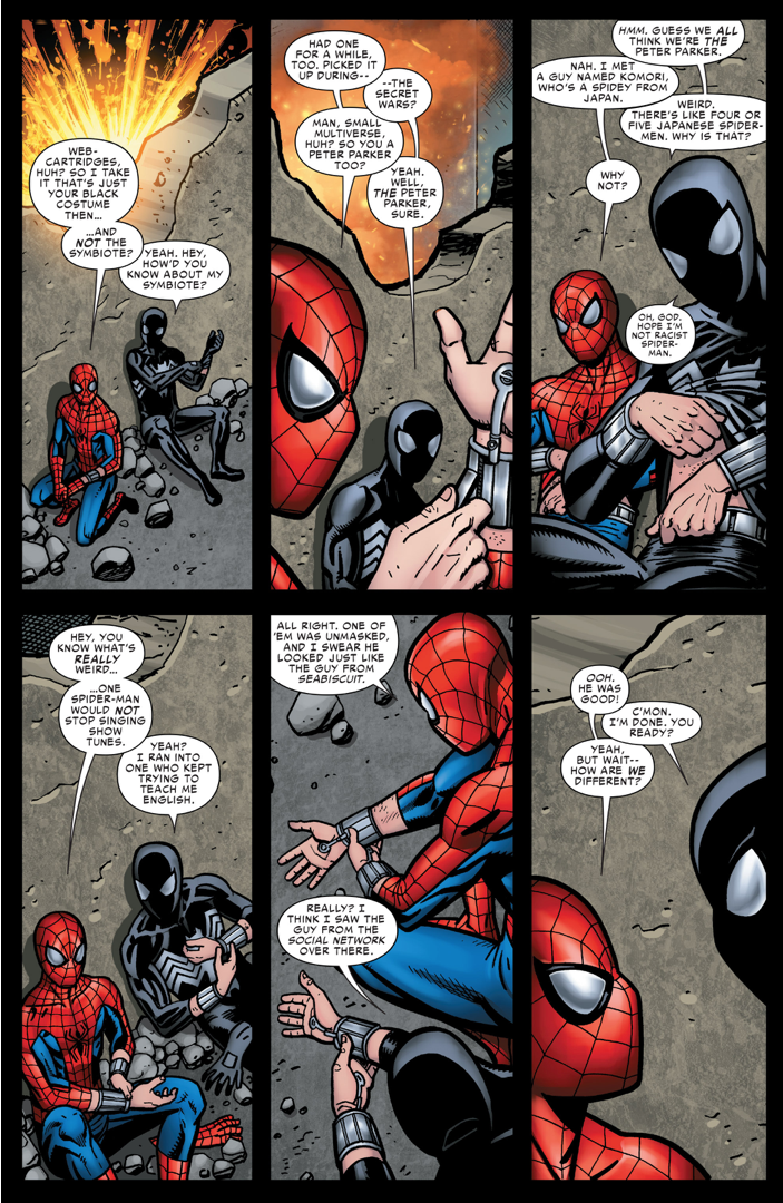 The amazing spidergirl gets face fucked - 1 8