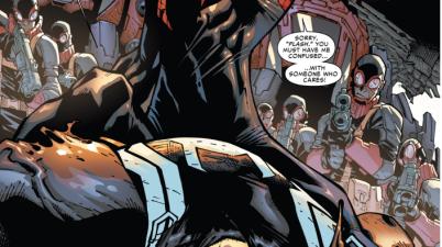 superior spider-man attacks agent venom