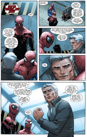 superior spider-man's pep talk to ben parker