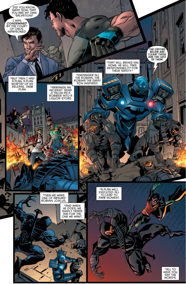 why dick grayson joined the court of owls