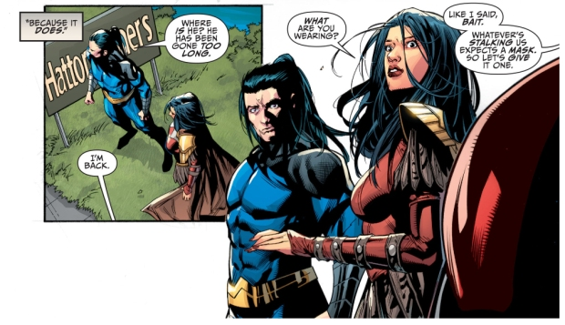 why dick grayson wore the nightwing costume again