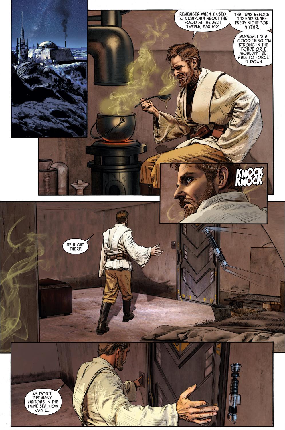 Why Owen Lars Doesn't Like Obi-Wan Kenobi | Comicnewbies Jabba The Hutt And Leia