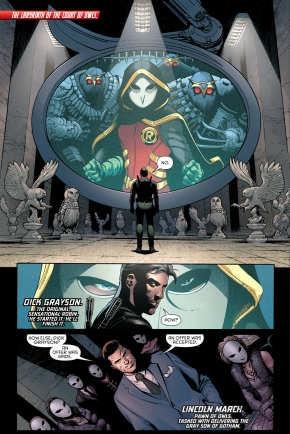 why robin joined the court of owls