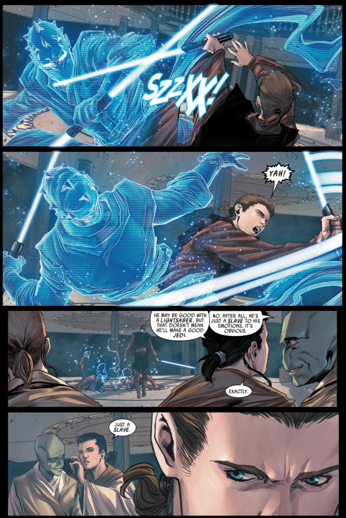 anakin skywalker vs darth maul training droid