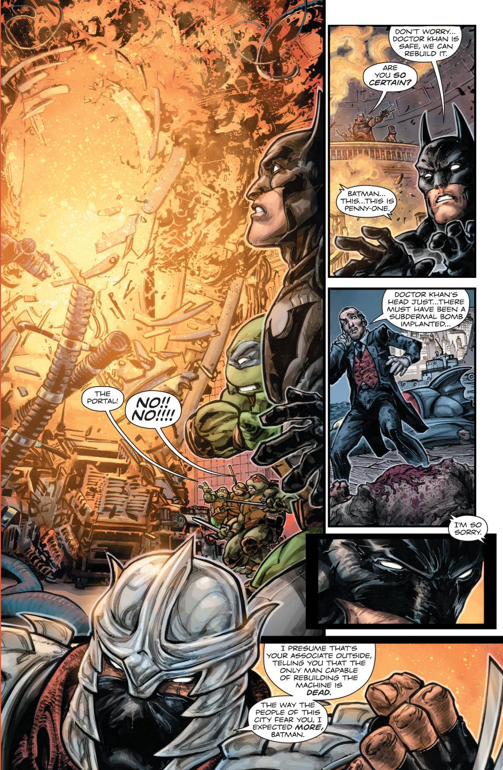 Batman And The Teenage...